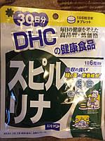 DHC Спирулина, Очищение и оздоровление организма ( на 30 дней) 180 капсул