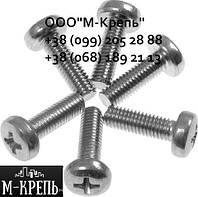 Винт DIN 7985 М16х30-95 , нержавеющий А2