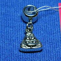 Серебряная подвеска на браслет Будда 3203/1