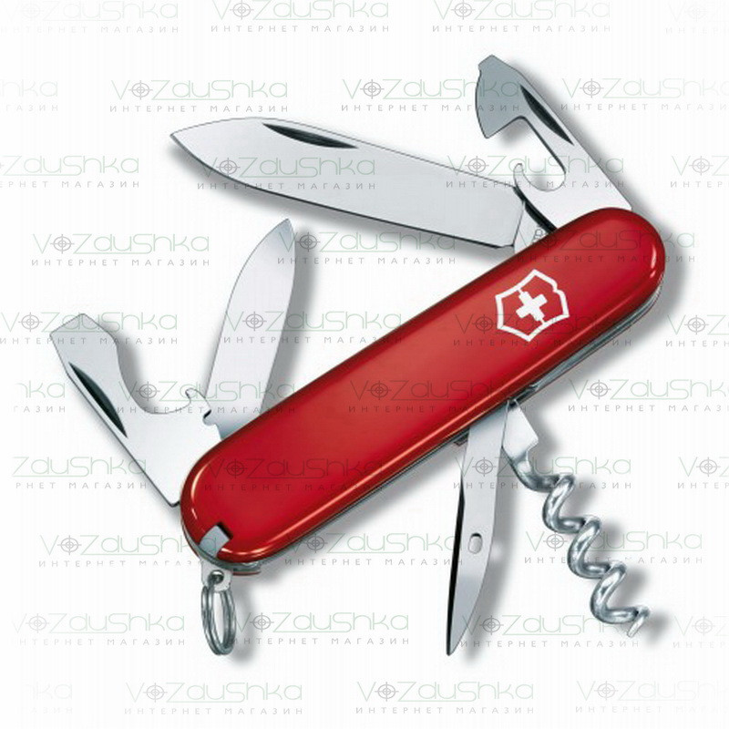 Нож Victorinox Tourist 0.3603 красный. 13 функций