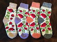 Женские теплые ангоровые носочки