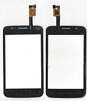 Сенсор LG E445 Optimus L4 II Dual чёрный