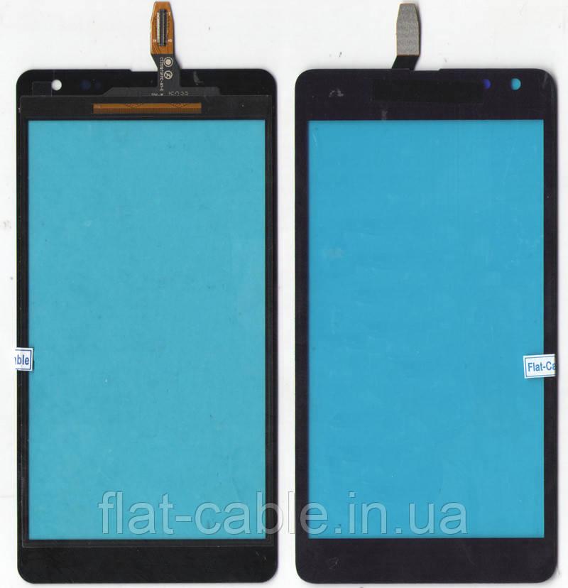 Сенсор Nokia Lumia 535 чёрный (оригинал) CT2S1973FPC-A1-E