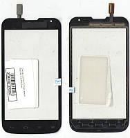 Сенсор LG D325 L70 Dual чёрный Black AA (125.5*64,5мм)