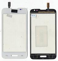 Сенсор LG D280 L65 Dual белый White AA