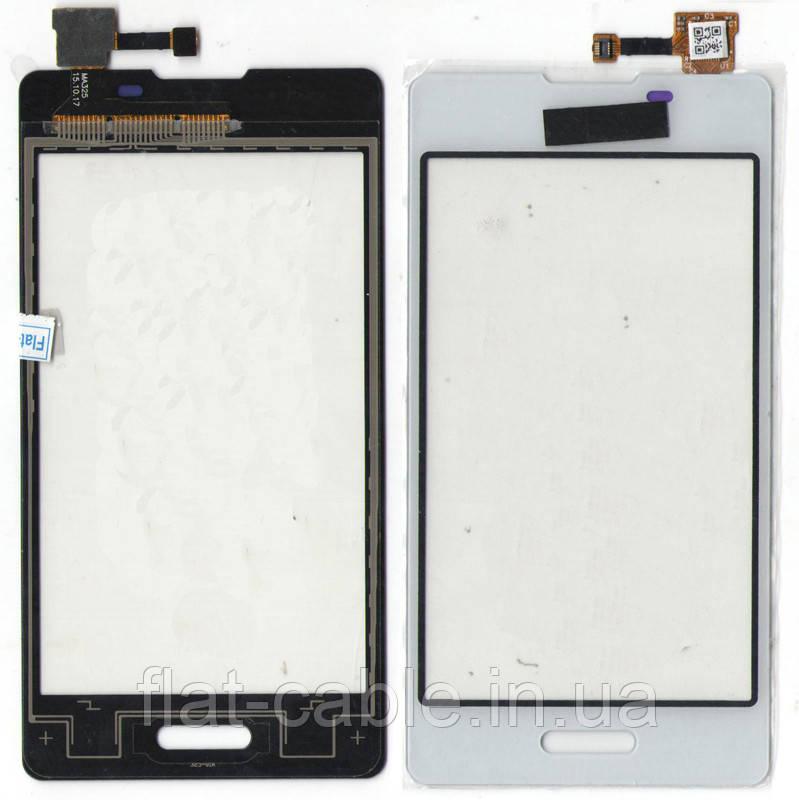 Сенсор LG E450 Optimus L5 II белый