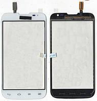 Сенсор LG D325 L70 Dual белый White (124,5*64мм)
