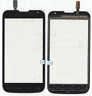 Сенсор LG D325 L70 Dual чёрный Black 124,5*64mm