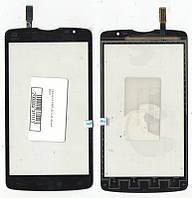 Сенсор LG D380 L80 Dual чёрный Black