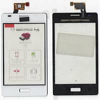 Сенсор LG E610 Optimus L5, E612 Optimus L5 белый