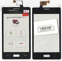 Сенсор LG E610 Optimus L5, E612 Optimus L5 чёрный