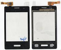Сенсор LG E425 чёрный(Black)