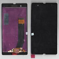 Дисплей + сенсор Sony C6602 L36h Xperia Z, C6603 L36i Xperia Z, C6606 L36a Xperia Z, черный copy