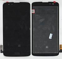 Дисплей + сенсор LG K7 MS330, Tribute 5 LS675 чёрный