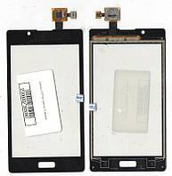 Сенсор LG P705 Optimus l7 чёрный