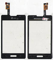 Сенсор LG E440 Optimus L4 II чёрный