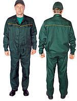 Костюм рабочий Бригадир тк.Саржа пл.245 (синий,серый,зеленый,васильковый)