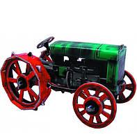 Картонная модель Ретро трактор Fordson F (1917 - 1928 г.) 217 УмБум