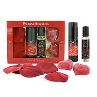 Extase Sensuel - Coffret Rouge Tentation - набор для эротического массажа