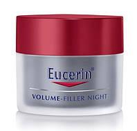 Ночной крем Eucerin Volume-Filler (Эуцерин Волюм Филлер) для восстановления контура лица, банка 50 мл.