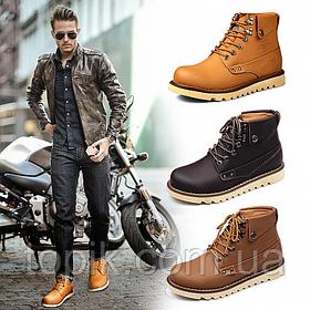 Зимние кожаные мужские ботинки: в продажу поступили новые модели!