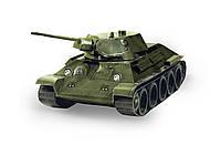Картонная модель Танк Т-34 (1941 г.) зелёный 199-02 УмБум