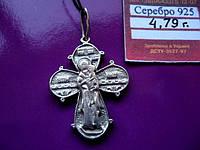 Серебро 925 пробы Крестик двухсторонний  4.79 грамма