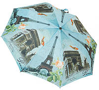 Модный женский зонт автомат 3678 Paris
