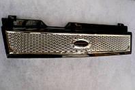 Решетка радиатора  ВАЗ 2108 2109 21099 (Рамка черная;Сетка соты под хром)