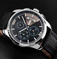 Кварцевые часы Skmei (black-blue)