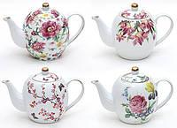 Чайник фарфоровый Райский Сад, 1.2 л