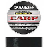 Леска Mistrall AMUNDSON CARP  BLACK 1000M 0,28MM