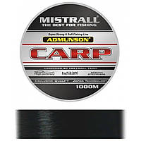 Леска Mistrall AMUNDSON CARP  BLACK 1000M 0,3MM