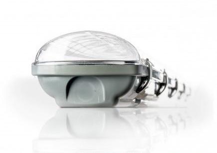 Влагозащищенный светильник (IP65) под две 0,6м Т8 LED лампы