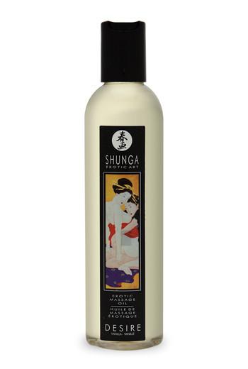 Shunga - Desire расслабляющее масло с ароматом ванили