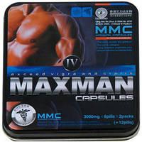 MaxMan 4 - натуральный препарат для повышения потенции