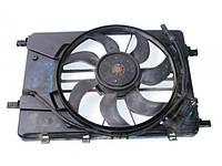 Вентилятор осн радиатора комплект 4 пина 7 лопастей D400 1.6 16V ch,1.8 16V ch Chevrolet Cruze 2009-2016