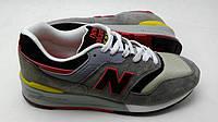 Мужские кроссовки New Balance 997 серо-красные