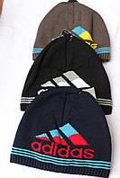 Шапка на флисе ,adidas,купить оптом шапку мужскую
