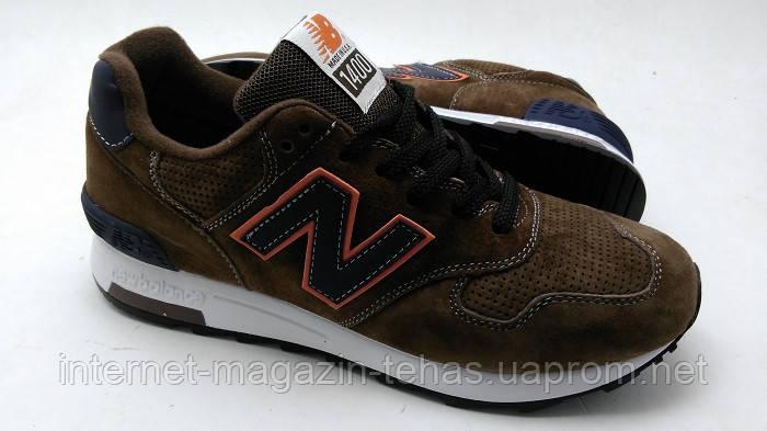 3f41f6539225 Мужские кроссовки New Balance 1400 коричневого цвета - Интернет-магазин
