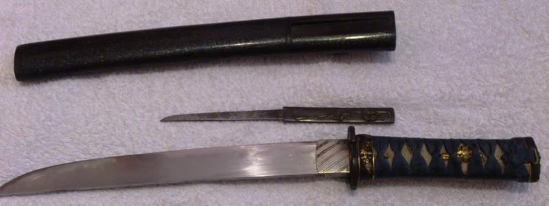 Японский кинжал Танто XIX-ый век период Мейдзи, фото 2