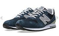 Мужские кроссовки New Balance 996  синие с серым
