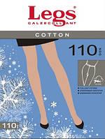Хлопковые колготки LEGS COTTON 110 DEN