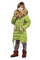Детская курточка с меховым воротником