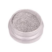 Хром пигмент для ногтей серебро №1