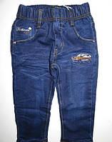 Джинсовые брюки на флисе для мальчиков KE YI QI 98рр