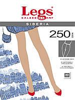 Колготки теплые на флисе  Legs siberia 250den