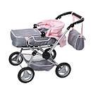 Игрушечная коляска для кукол Baby Born 3 в 1 Deluxe Pram Zapf Creation 821343, фото 4
