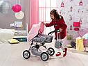 Игрушечная коляска для кукол Baby Born 3 в 1 Deluxe Pram Zapf Creation 821343, фото 7