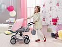 Игрушечная коляска для кукол Baby Born 3 в 1 Deluxe Pram Zapf Creation 821343, фото 8